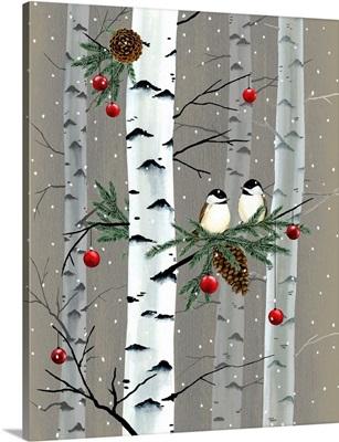 Birch Birds I