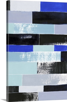 Black and Blue Bricks II