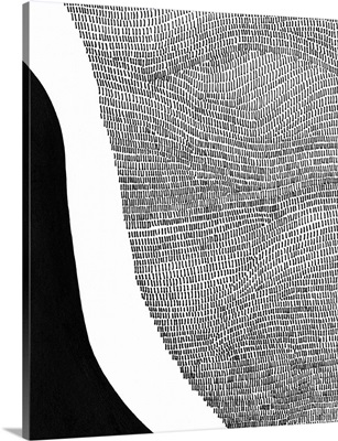 Black & White Abstract I