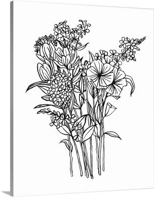 Black & White Bouquet II