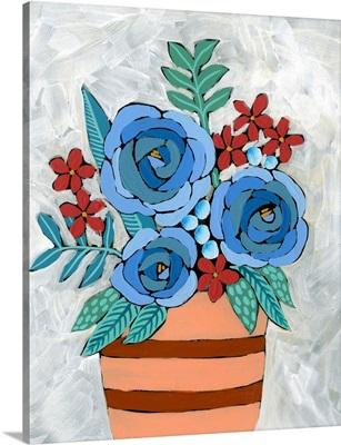 Bleu Blume I