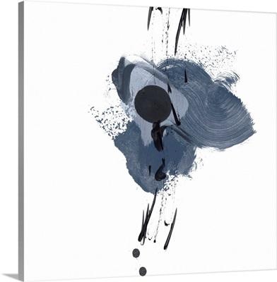 Blue and Black Splash II