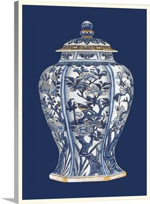 Blue and White Porcelain Vase I