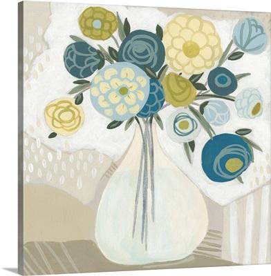 Blue Bohemian Bouquet I