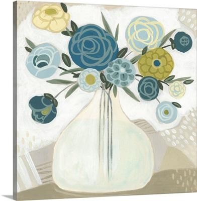 Blue Bohemian Bouquet II