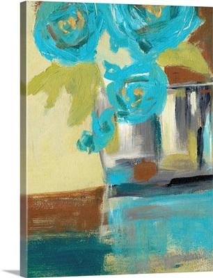 Blue Bud Vase II