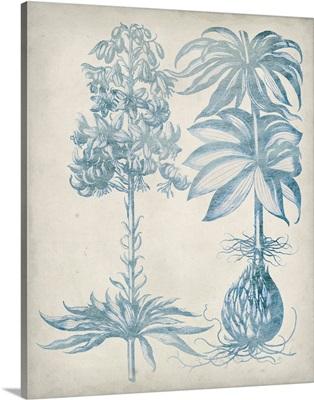 Blue Fresco Floral I
