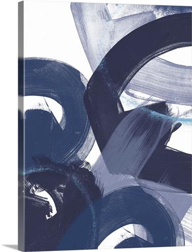 Blue On Blue Ii Wall Art Canvas Prints Framed Prints Wall Peels Great Big Canvas