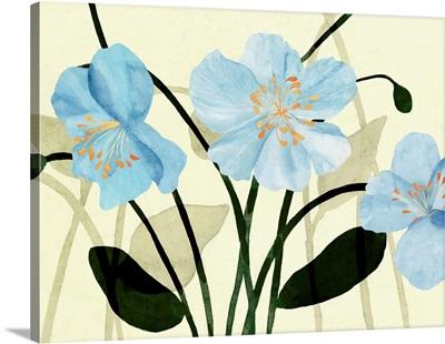 Blue Poppies I