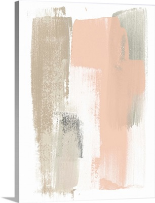 Blush Abstract VI