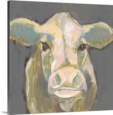 Blush Faced Cow I