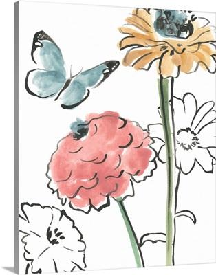 Boho Florals III