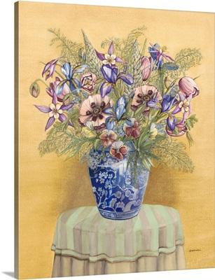Bouquet in Asian Vase II
