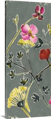 Bouquet on Grey III