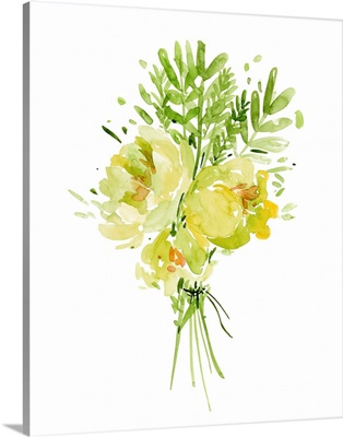 Bouquet with Peony I