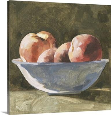 Bowl Of Peaches I