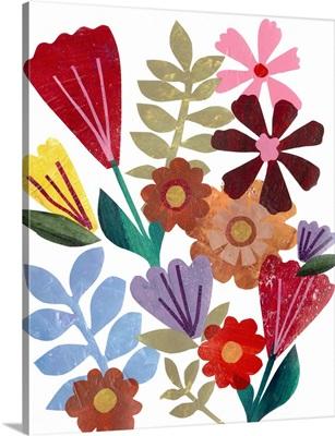 Bright Floral I