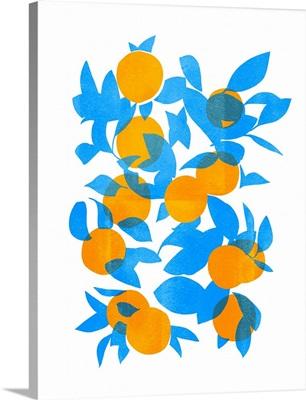 Bright Tangerines I