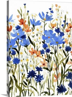 Bright Wildflower Medley I