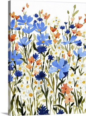 Bright Wildflower Medley II