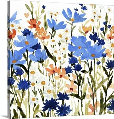 Bright Wildflower Medley III