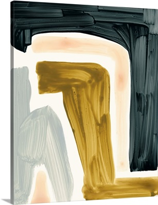 Brushy Shapes III