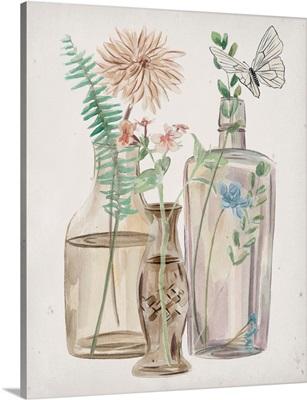 Butterflies & Flowers II