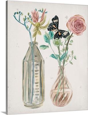 Butterflies & Flowers III