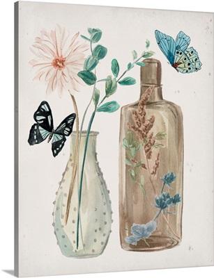 Butterflies & Flowers IV