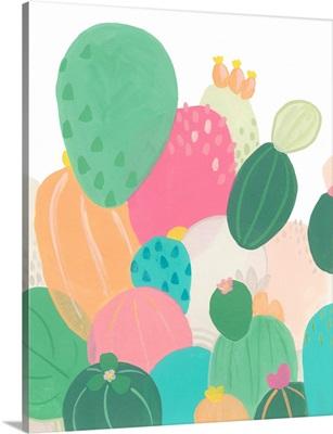 Cactus Confetti I