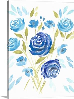 Cerulean Blooms II