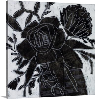 Chalkboard Garden II