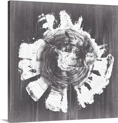 Chalkboard Tree Ring II