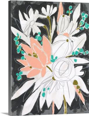 Charcoal Bouquet II