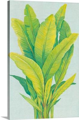 Chartreuse Tropical Foliage I