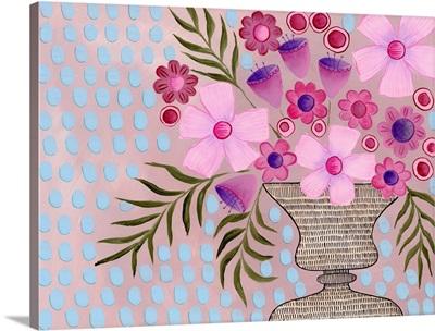 Cheeky Pink Floral II
