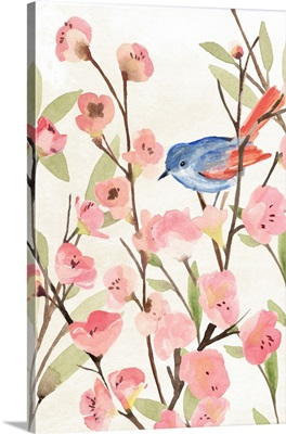 Cherry Blossom Perch II