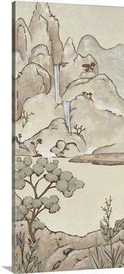Chinoiserie Landscape II