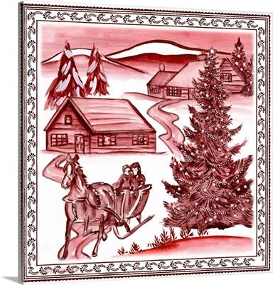 Christmas Wonderland Toile II