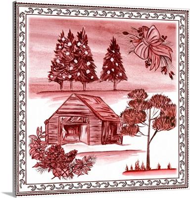 Christmas Wonderland Toile III