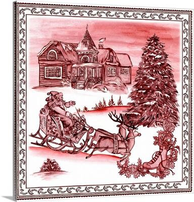 Christmas Wonderland Toile IV