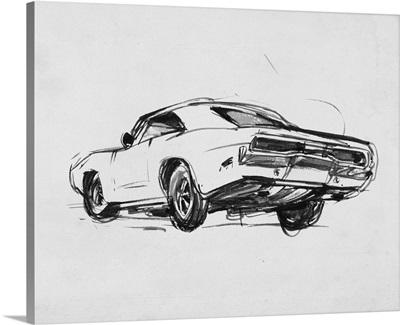 Classic Car Sketch I