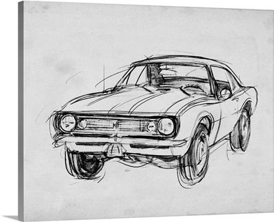 Classic Car Sketch III