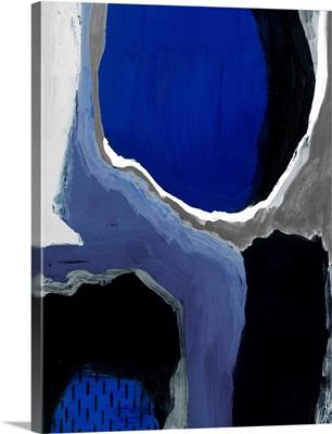 Cobalt Abstract I