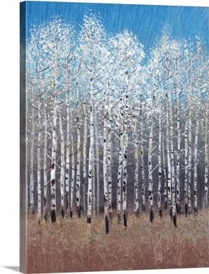 Cobalt Birches I