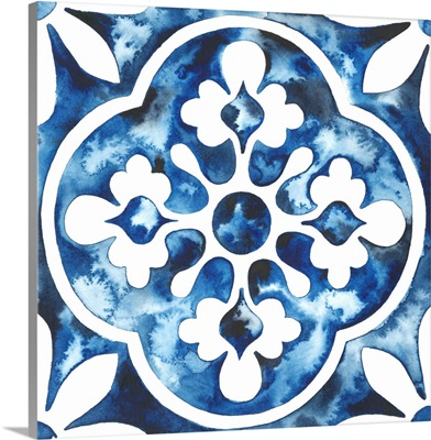 Cobalt Tile I