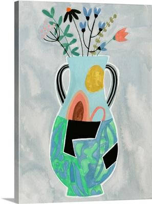 Collage Vase I
