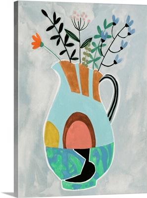 Collage Vase III
