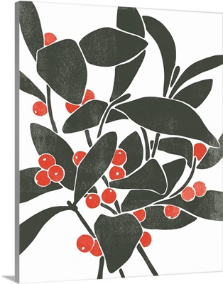 Colorblock Berry Branch I