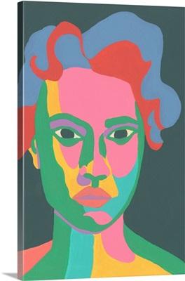 Colorblock Face II